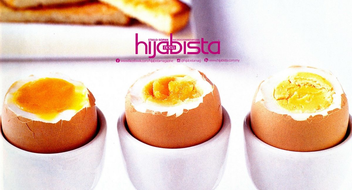 Diet Menggunakan Telur Rebus