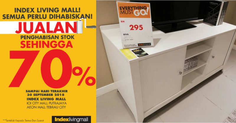 Ini Sebab Kenapa Geng Dekor Kena Datang Ke Index Living Mall Sekarang!