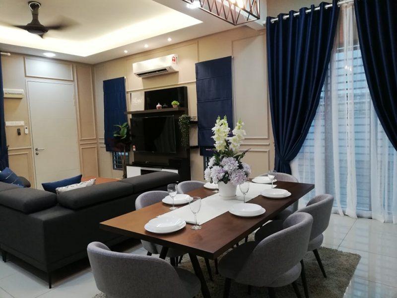 Renovasi RM50k Kediaman Moden Industri 5