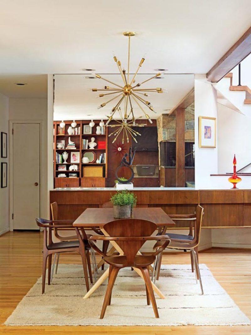 10 Koleksi Meja Makan Mid-Century, Ubah Penampilan Ruang 10