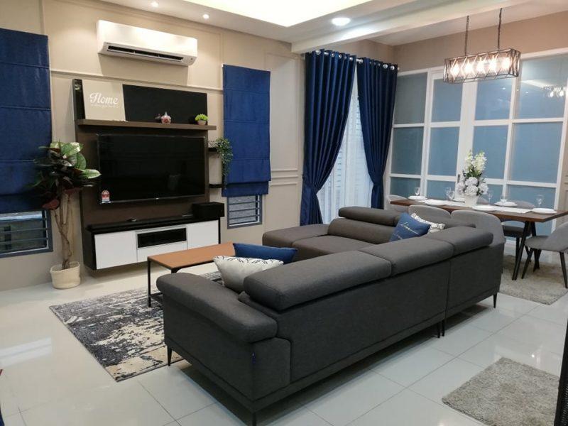 Renovasi RM50k Kediaman Moden Industri 2
