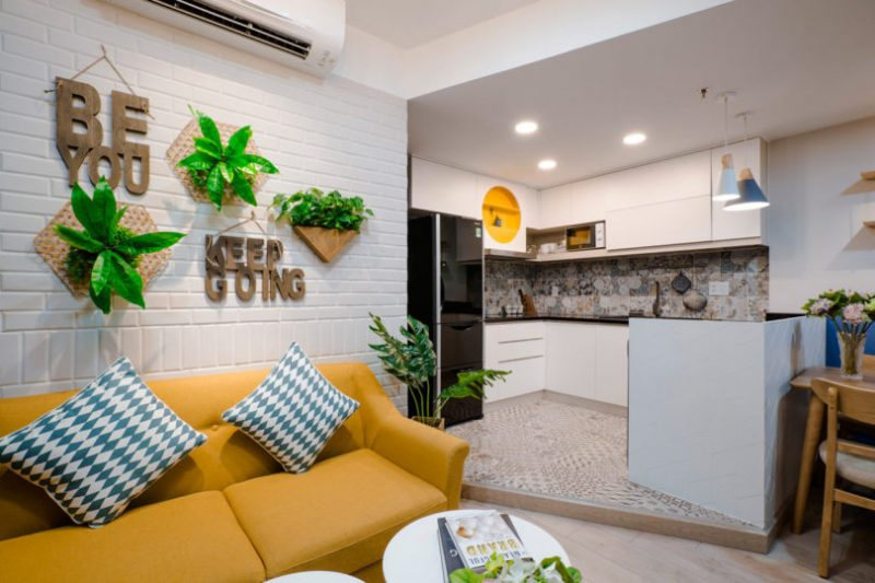 Rumah Sempit 646 sqft Tetap Nampak Luas Dengan Pilihan Warna Vibrasi 10