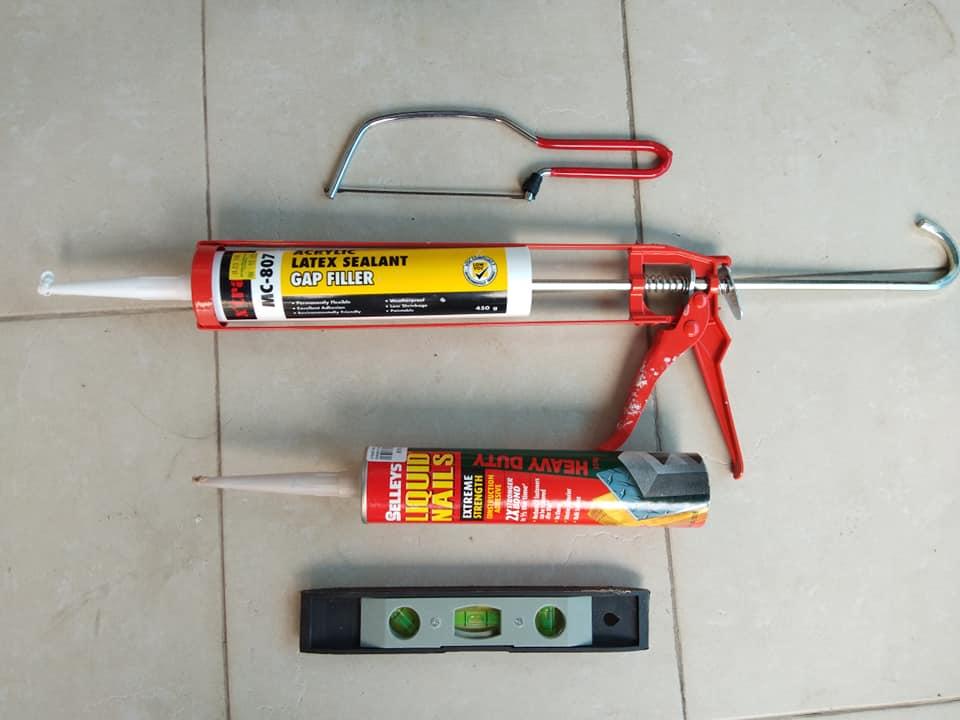 DIY Waiscoting Dengan Bajet Bawah RM200 2