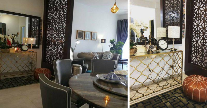 (GAMBAR) Kondo Bertemakan Morocco Inspirasi Yang Di Bawa Pulang Dari Umrah