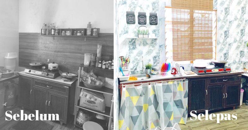 Rm 200 Guna Barang Kedai Bajet Untuk Dapur Cantik Impiana