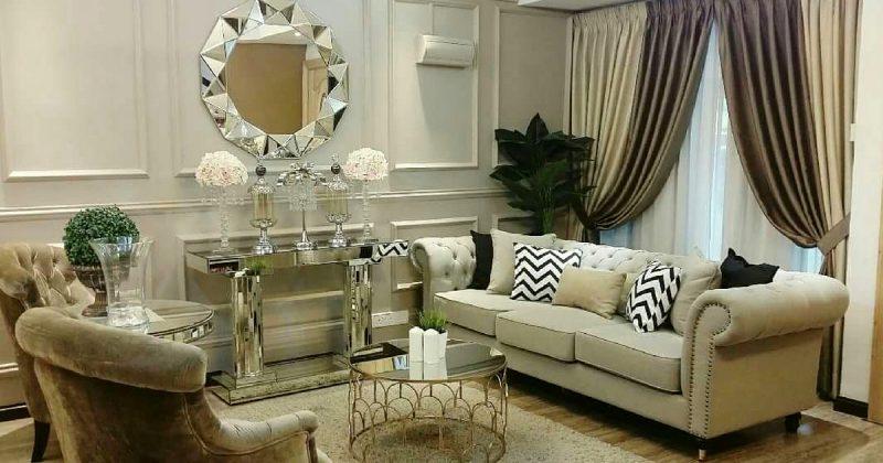 (GAMBAR) Makeover Rumah Sub-Sale Dengan Sentuhan Glam Kontemporari.