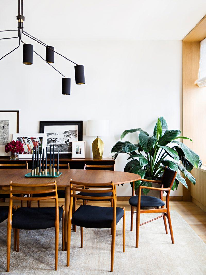 10 Koleksi Meja Makan Mid-Century, Ubah Penampilan Ruang 7