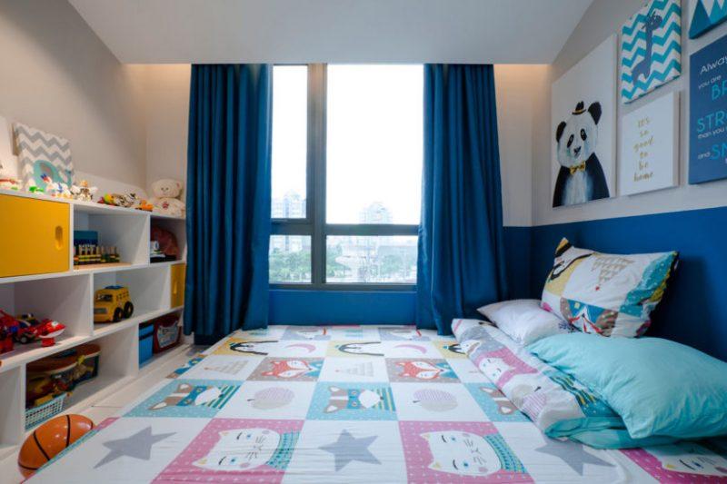 Rumah Sempit 646 sqft Tetap Nampak Luas Dengan Pilihan Warna Vibrasi 16