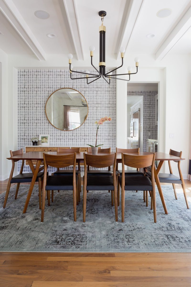 10 Koleksi Meja Makan Mid-Century, Ubah Penampilan Ruang 8