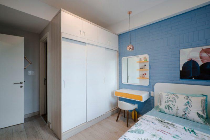 Rumah Sempit 646 sqft Tetap Nampak Luas Dengan Pilihan Warna Vibrasi 14