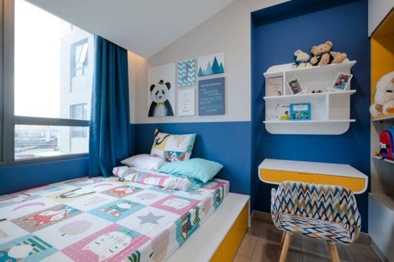 Rumah Sempit 646 sqft Tetap Nampak Luas Dengan Pilihan Warna Vibrasi 13