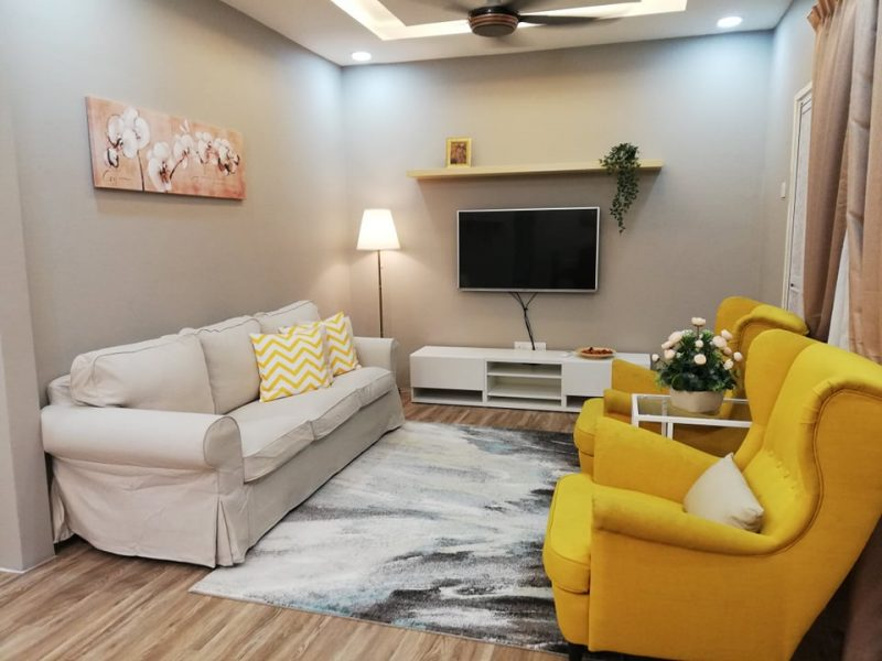 Renovasi RM50k Kediaman Moden Industri 10