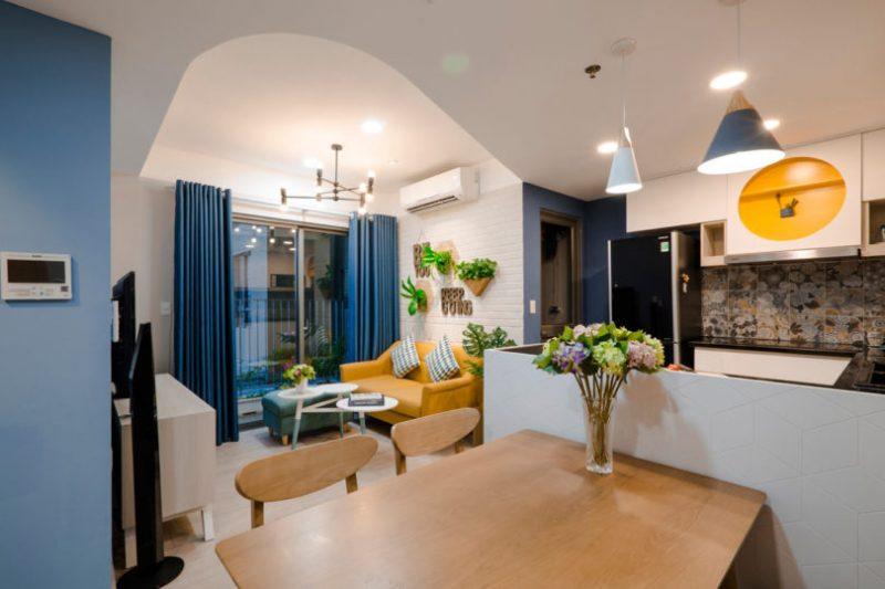 Rumah Sempit 646 sqft Tetap Nampak Luas Dengan Pilihan Warna Vibrasi 2