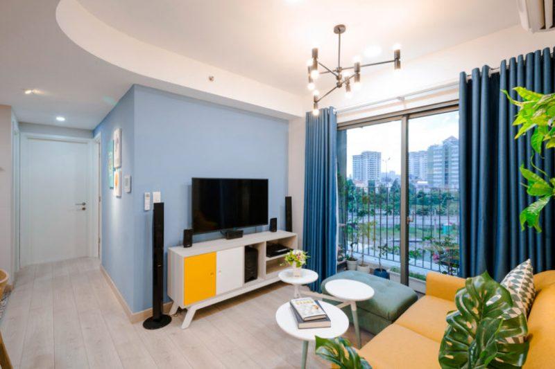 Rumah Sempit 646 sqft Tetap Nampak Luas Dengan Pilihan Warna Vibrasi 5