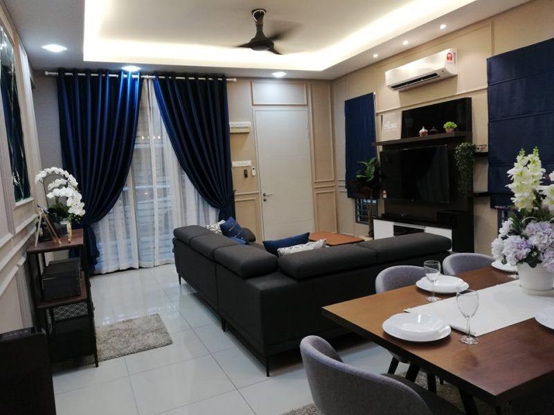 Renovasi RM50k Kediaman Moden Industri 4