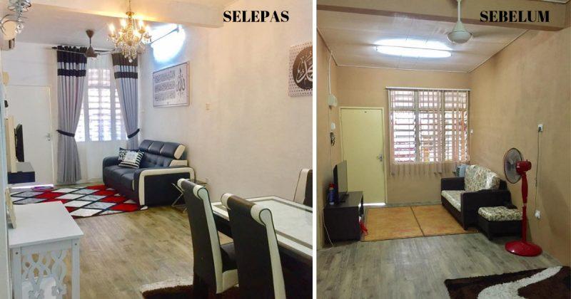 Decoration Rumah Teres Kos Rendah Oh Decor Curtain
