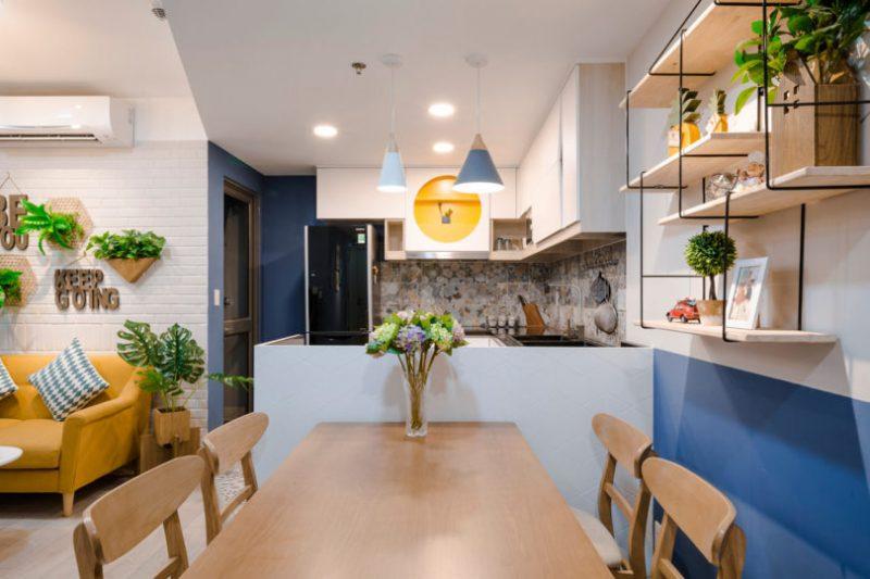 Rumah Sempit 646 sqft Tetap Nampak Luas Dengan Pilihan Warna Vibrasi 6