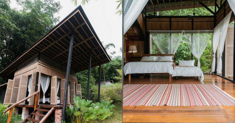 (GAMBAR) Rekabentuk Rumah Kebun Rustik Di Kelilingi Kehijauan Yang Memukau