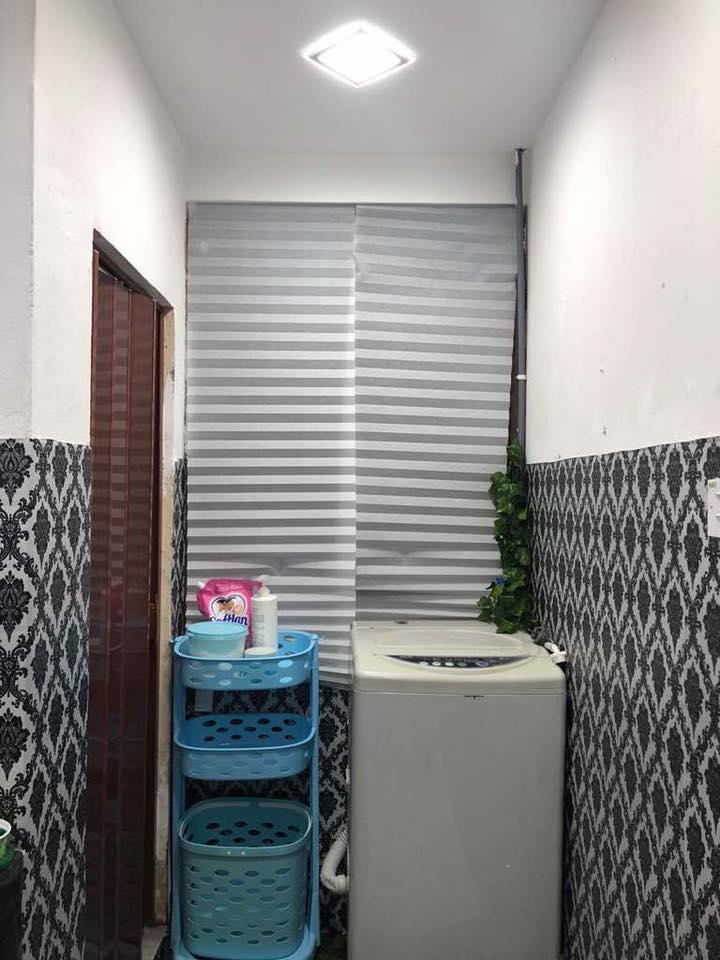 Hanya Guna Cat Hasilkan Corak Geometri Di Dinding, Lihat Transformasi Rumah Flat PKNS Ini! 17