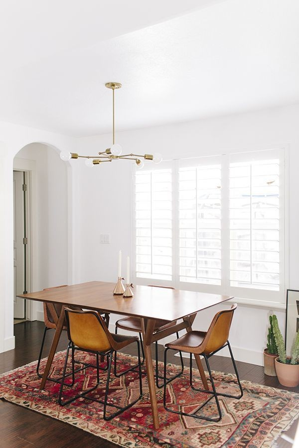 10 Koleksi Meja Makan Mid-Century, Ubah Penampilan Ruang 11