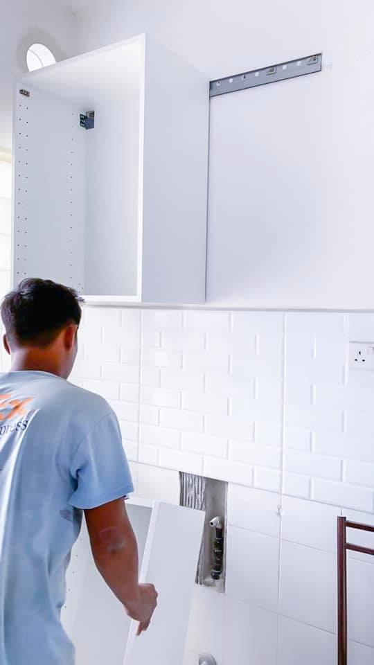 Makeover Sendiri Dapur Sempit 7 Kaki Modal RM 2,746.60 6