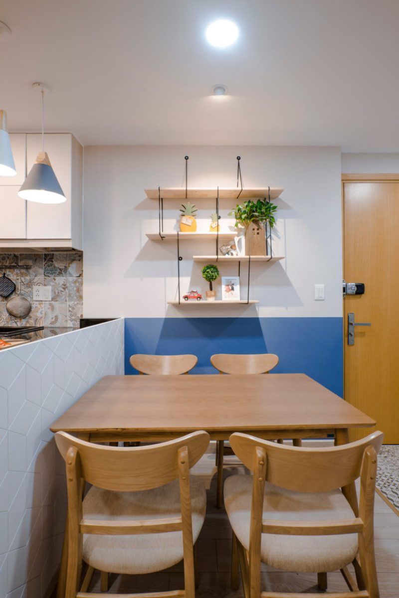 Rumah Sempit 646 sqft Tetap Nampak Luas Dengan Pilihan Warna Vibrasi 7