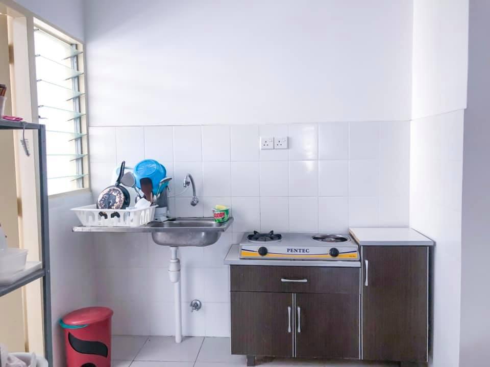 Makeover Sendiri Dapur Sempit 7 Kaki Modal RM 2,746.60 2