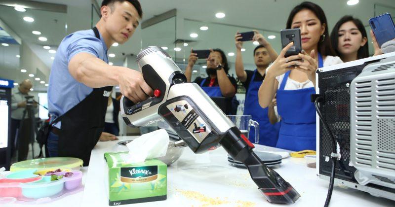 Samsung POWERstick PRO Kemas Rumah Dalam Masa Singkat