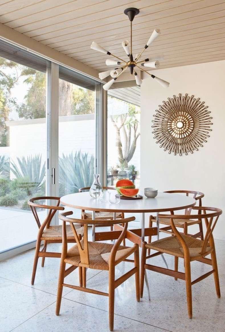 10 Koleksi Meja Makan Mid-Century, Ubah Penampilan Ruang 4