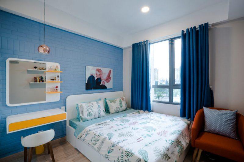 Rumah Sempit 646 sqft Tetap Nampak Luas Dengan Pilihan Warna Vibrasi 11