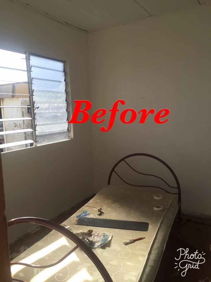 Hanya Guna Cat Hasilkan Corak Geometri Di Dinding, Lihat Transformasi Rumah Flat PKNS Ini! 4