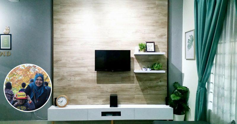 DIY TV Wall Panel Besar Macam Ni Hanya Dengan Modal RM 399