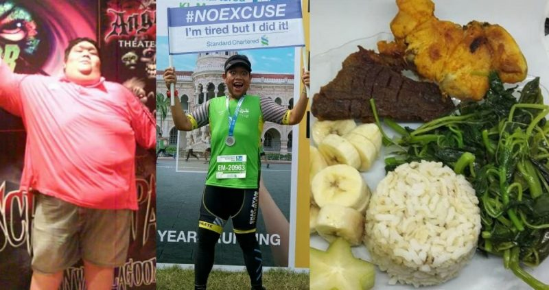 10 Tip Kawal Nafsu Makan, Hasilnya Lelaki Ini Berjaya Turun Berat Sebanyak 105Kg