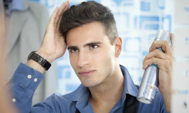 Spray Shampoo Untuk Lelaki Sibuk