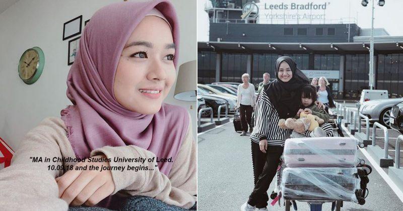 'Hijrah Aku Pada Tarikh Hijrah Nabi,' Farah Lee Bawa Diri & Maream Ke U.K. Beri Inspirasi Pada Ibu Tunggal Untuk Kejar Impian
