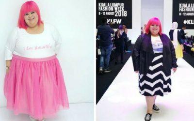Monalisa Cavalli Viral Selepas Jadi Model Fazura Dalam KLFW 2018, Kini Jadi Inspirasi Wanita Plus Size