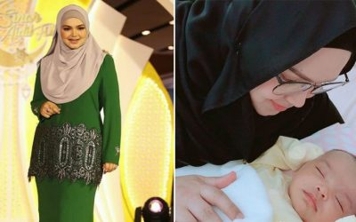 'Bulan Pertama Saya Macam Zombie!' Selesai Pantang 44 Hari Datuk Siti Kongsi Pengalaman Paling Manis