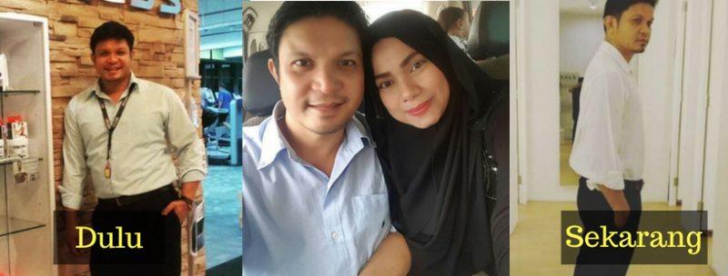 Isteri Pantau Makan, Paksa Bersenam! Hasilnya Ako Mustapha Hilang 20KG