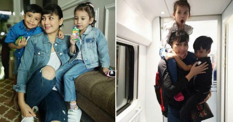 Fasha Sandha Balik Kampung Naik ETS, Siap Berikan Tips Untuk Ibu Tunggal Travel Jauh