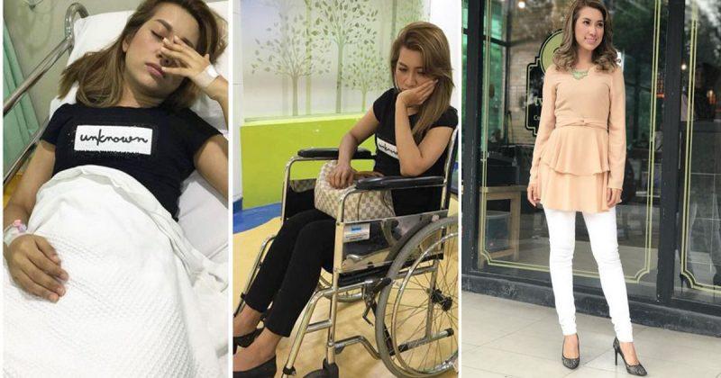 Terpaksa Dirawat Kerana Kasut Tumit Tinggi, Zara Zya Nasihat Wanita Lain Kurangkan Pemakaiannya