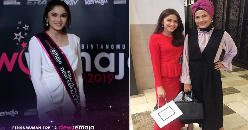 Anak Bekas Top Model Mimi Wahedah Ulang Sejarah 30 Tahun Lalu Terpilih Top 12 Dewi Remaja 2018/19