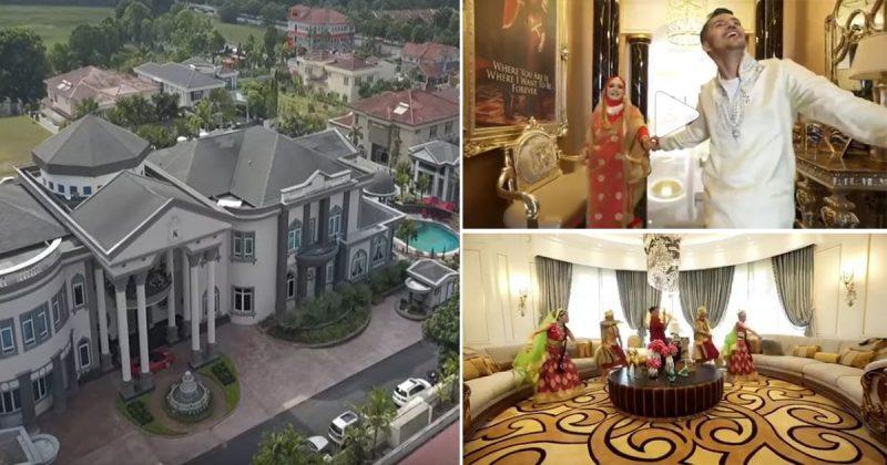 Ada 30 Bilik, Gimnasium, Surau, Bilik Kebal, Rumah Dodi Pun Ada, Mewah Betul! Teaser Rumah Datuk Aliff Syukri Dapat 1 Juta Tontonan di Instagram