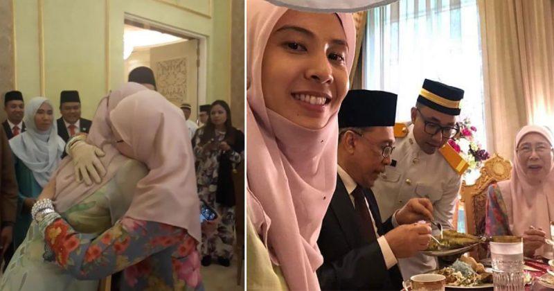 Air Mata Kesyukuran! Netizen Sebak Lihat Momen Pertemuan Keluarga Datuk Seri Wan Azizah Di Istana Negara