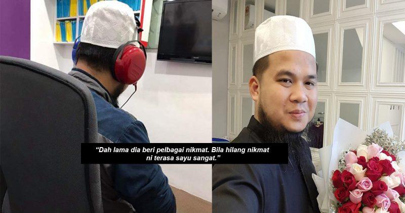 "'Maafkan Kesalahan & Dosa Saya…""Dugaan Ustaz Ebit Lew Hilang Pendengaran Telinga Kanan"