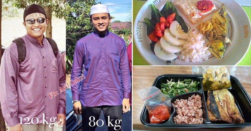 Lelaki Ini Hilang 40kg Dalam Masa 3 Bulan, Nah Ni Tip Kalau Nak Berjaya Kurus Macam Dia.