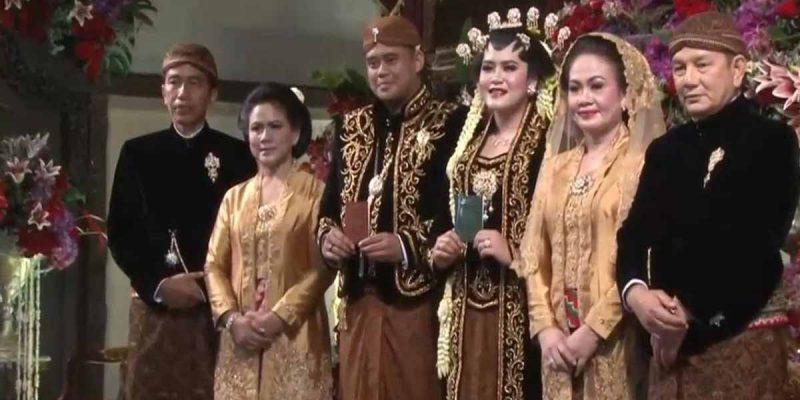 Anak Presiden Indonesia Selamat Bernikah, Kahiyang Ayu Terima Mas Kahwin 80gram Emas