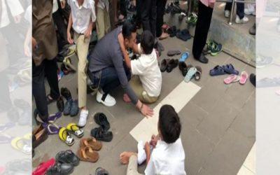 Rasa Macam Bertahun Tak Jumpa Walhal Baru Berpisah Berapa Jam. Kisah Pertemuan Dato' Fazley & Anak Di Masjid Undang sebak