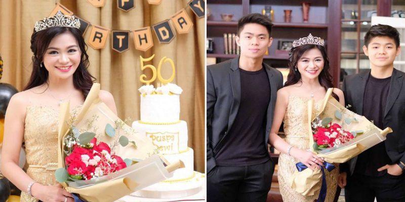 Ibu Usia 50 Tahun Tapi Nampak Macam Gadis Usia 20-an, 4 Amalan Awet Muda Puspa Dewi Jadi Bualan Hangat Netizen