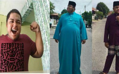 6 Kali Usaha, Jaga Makan, Pergi Gim, Makan Ubat Semua Tak Berkesan! Tapi Satu Amalan Berjaya Buat Pemuda Ini Turunkan Berat Badan