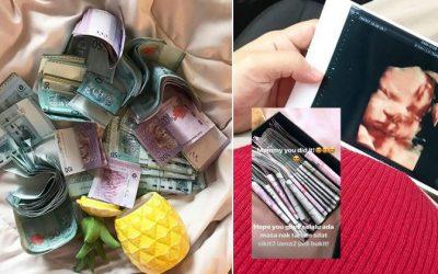Wanita Ini Kongsi Kejayaannya Menabung Untuk Belanja Bersalin. Mula Hari Pertama Tahu Hamil, Selepas 6 Bulan Hasilnya RM 13,600. Wow!